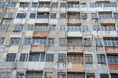 Redevelopment in Kwun Tong, Hong Kong. Kwun Tong is new doing a redevelopment project. Old buildings with great memories are changing into high rise buildings Royalty Free Stock Image