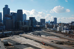 Redevelopment�at Umeda  in Osaka prefecture,Japa Royalty Free Stock Photo