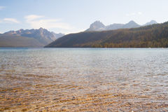 Redfish See-und Sägezahn-Berge in Idaho Stockfotos