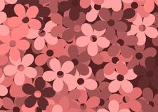 Redflowers background. Seamless red flowers background for web design Royalty Free Stock Photography