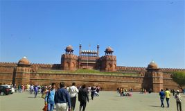 Redfort, New Delhi, India royalty free stock photography