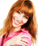 Redhair beauty Stock Photos