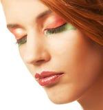 redhaired женщина Стоковые Изображения RF