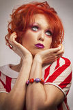 Redhaired Royalty Free Stock Photo
