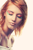 Redhaired woman Stock Photography