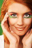 Redhaired woman Royalty Free Stock Photos