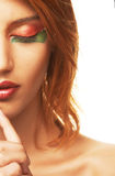 Redhaired woman Stock Photos