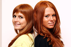 Redhairs Royalty Free Stock Photography