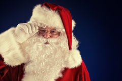 Redhat santa Royalty Free Stock Photo