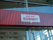 Redhat Summit in San Francisco stock photography