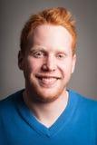 Redhead αγόρι Στοκ φωτογραφία με δικαίωμα ελεύθερης χρήσης