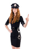Redhead αστυνομικός Στοκ εικόνα με δικαίωμα ελεύθερης χρήσης