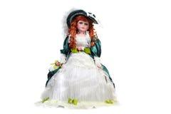 Redhead κούκλα Στοκ Φωτογραφίες