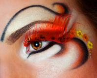 Redhead ομορφιά Στοκ Εικόνες