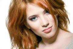 redhead προκλητικός κοριτσιών π& στοκ φωτογραφίες