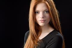 Redhead красоты стоковые изображения rf