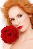 redhead невесты стоковые изображения rf