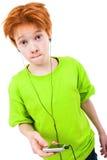 Redhead предназначенный для подростков Стоковое Изображение RF