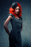 redhead Royaltyfri Fotografi