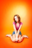 Redhead 2 teenager immagine stock libera da diritti