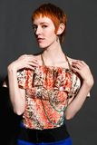 Redhead Royalty Free Stock Photo