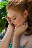 Redhead стоковая фотография