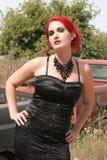 Сексуальный Redhead Стоковые Фотографии RF