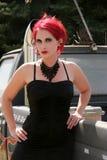 Сексуальный Redhead Стоковая Фотография