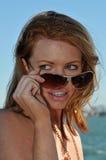 Redhead Fotografía de archivo libre de regalías