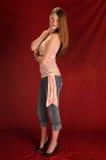 Redhead Stockbild