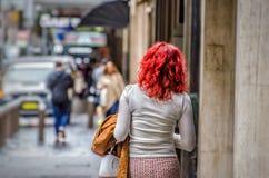 redhead Royaltyfri Foto