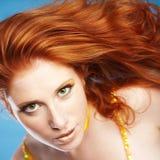 Redhead Fotos de archivo libres de regalías