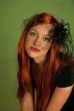 Redhead atractivo Foto de archivo libre de regalías