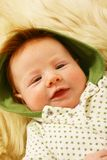 Redhead baby Royalty Free Stock Images