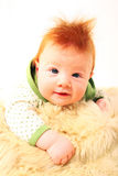 Redhead baby Stock Photography