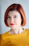 Redhead beautiful woman Royalty Free Stock Image