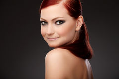 Redhead beauty Royalty Free Stock Photography