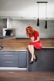Redhead beauty Royalty Free Stock Photography
