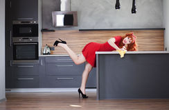 Redhead beauty Stock Photos