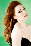 Redhead beauty Stock Photo
