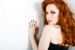 Redhead beauty Royalty Free Stock Images