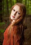 Redhead Beauty Royalty Free Stock Image