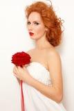 Redhead bride Royalty Free Stock Photos