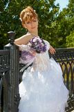 Redhead charming Bride Stock Photography