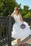 Redhead charming Bride Royalty Free Stock Photography