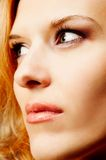 Redhead closeup Royalty Free Stock Photography