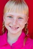 Redhead com tranças Fotos de Stock