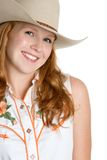 Redhead Cowgirl Stock Images