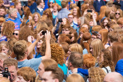 Redhead day Breda Stock Photography