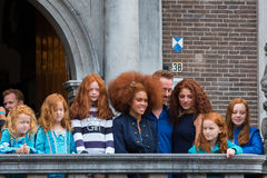 Redhead day Breda Royalty Free Stock Images